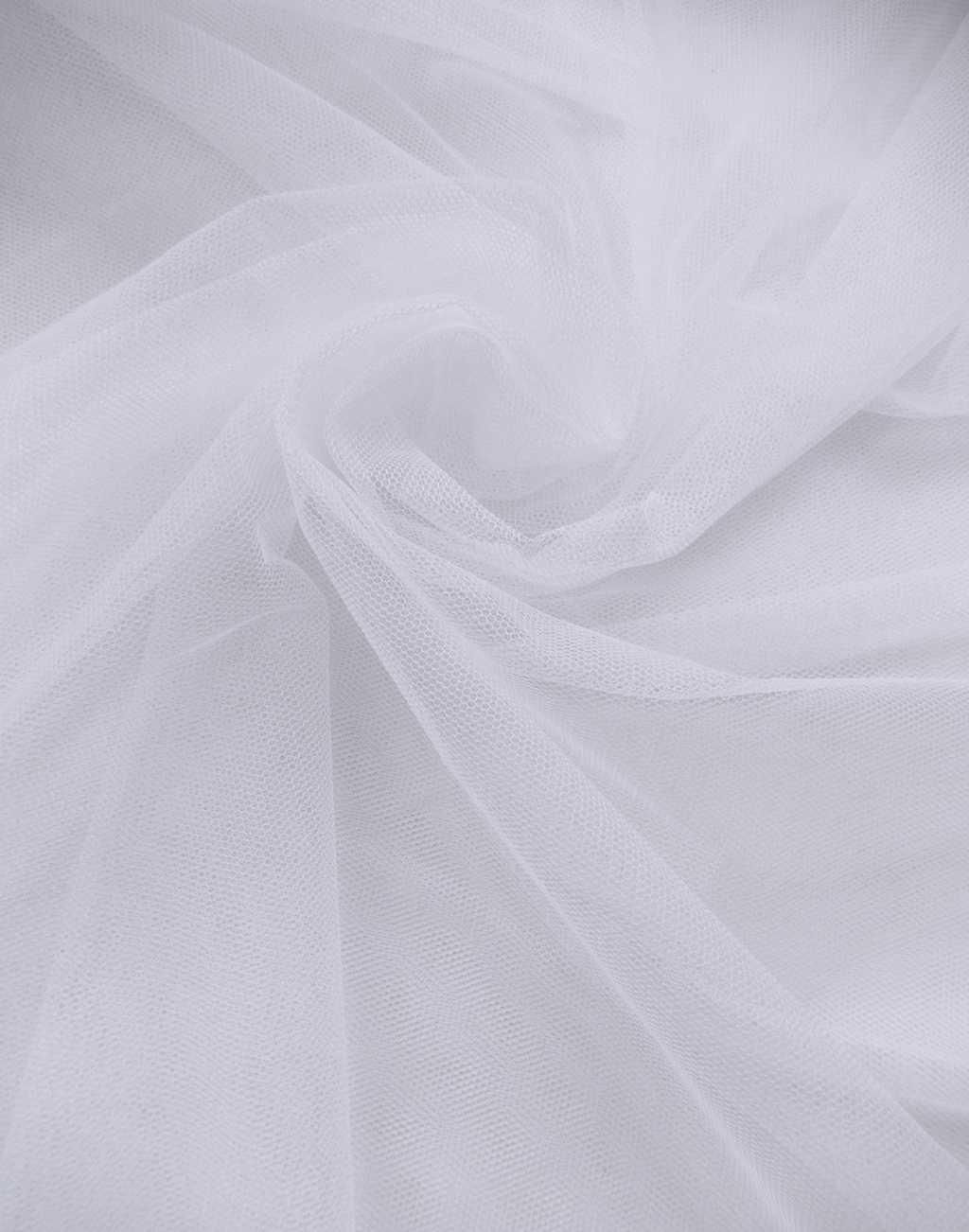 پارچه تور سانول سفید