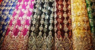 پارچه تور دانتل لباس