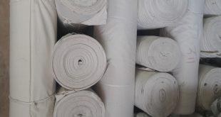 پارچه برزنتی چادری سفید